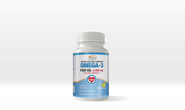 Omega-3 Label